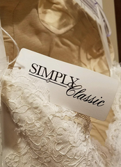 Simply Classic 'Lace and Silk' - Simply classic - Nearly Newlywed Bridal Boutique - 3