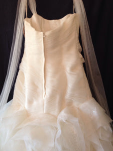 White by Vera Wang 'Fit and Flare' - White by Vera Wang - Nearly Newlywed Bridal Boutique - 3