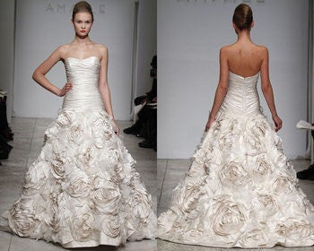 Amsale 'Bijou' - Amsale - Nearly Newlywed Bridal Boutique - 3