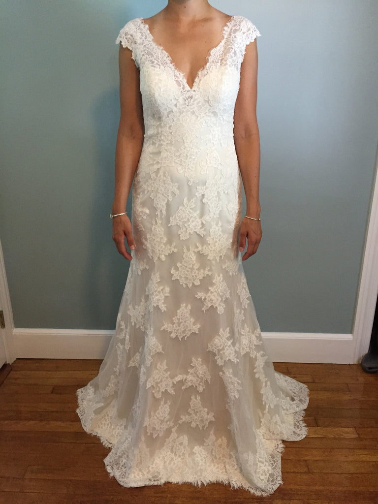 Maggie Sottero Wedding Dresses with Lace Overlay