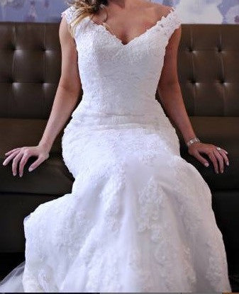 Mori Lee 'Blu 5316' - Mori Lee - Nearly Newlywed Bridal Boutique - 3