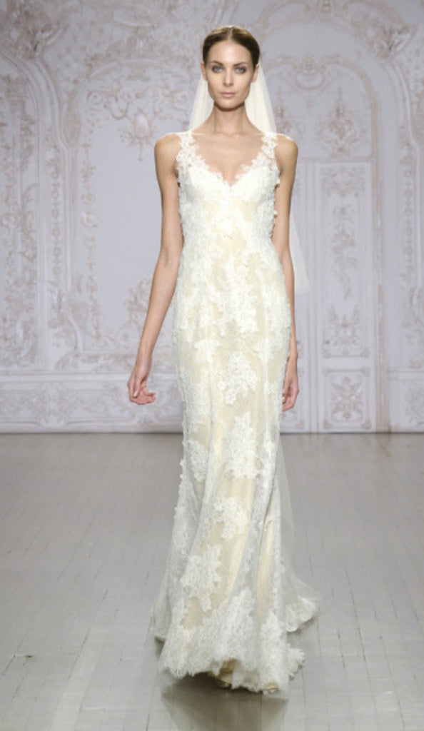 Monique Lhuillier 'Calla' - Monique Lhuillier - Nearly Newlywed Bridal Boutique - 2