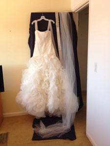 White by Vera Wang 'Fit and Flare' - White by Vera Wang - Nearly Newlywed Bridal Boutique - 4