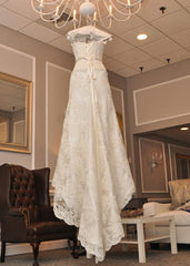Pnina Tornai P74093x Lace Wedding Dress - Pnina Tornai - Nearly Newlywed Bridal Boutique - 4