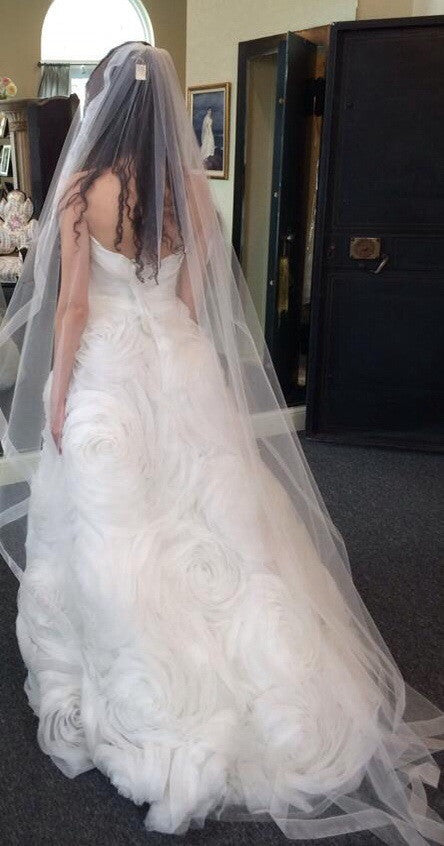 Monique Lhuillier Bliss #1206 - Monique Lhuillier - Nearly Newlywed Bridal Boutique - 1