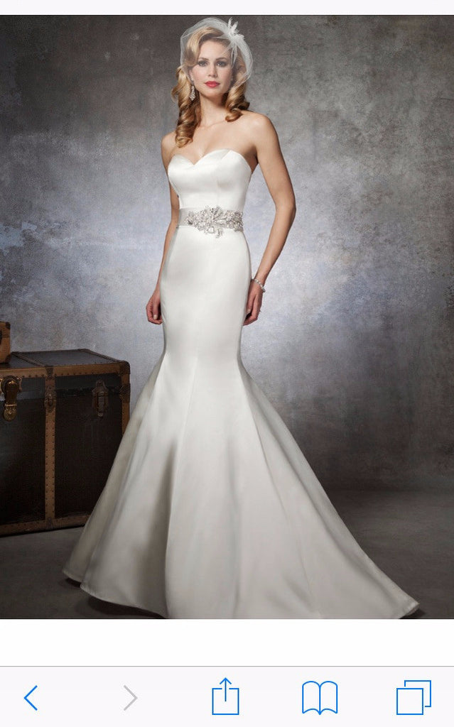 Justin Alexander '8659' - JUSTIN ALEXANDER - Nearly Newlywed Bridal Boutique