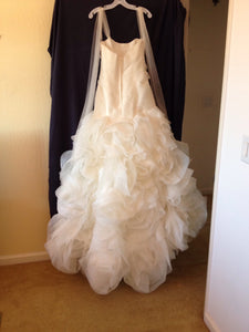 White by Vera Wang 'Fit and Flare' - White by Vera Wang - Nearly Newlywed Bridal Boutique - 2
