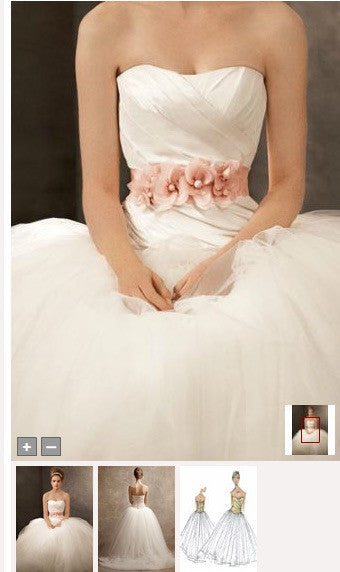 Vera Wang White  'Ball Gown' - Vera Wang White - Nearly Newlywed Bridal Boutique