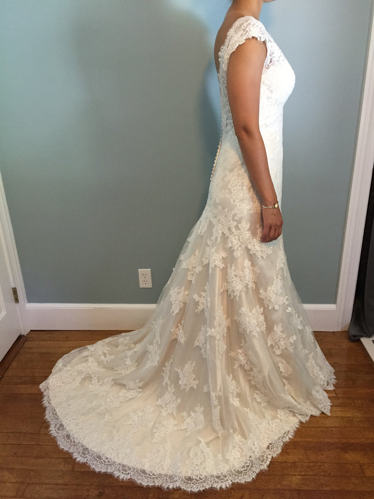 Maggie Sottero 'Shayla' - Maggie Sottero - Nearly Newlywed Bridal Boutique - 4