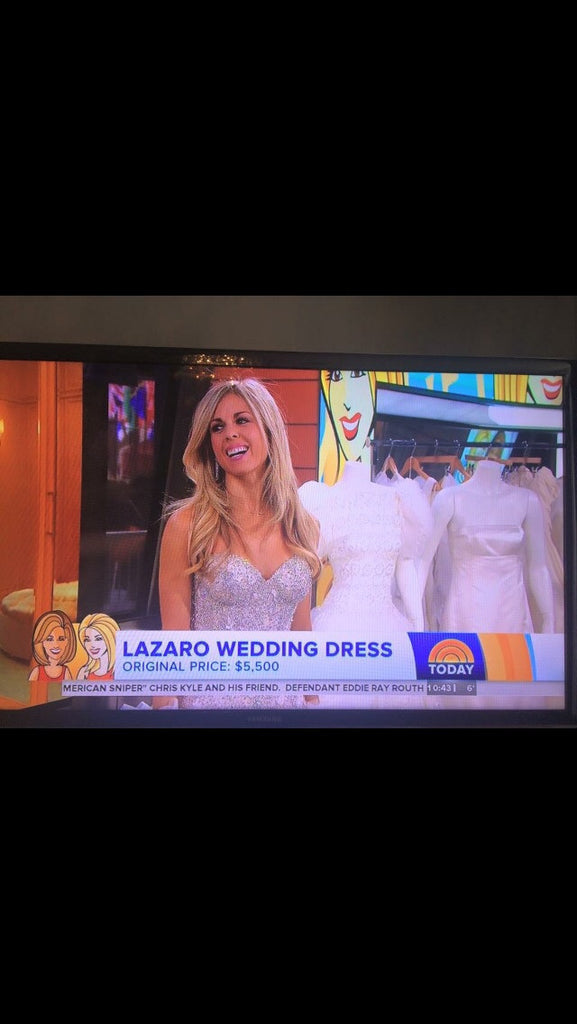 Lazaro Custom Made Gown - Lazaro - Nearly Newlywed Bridal Boutique - 5
