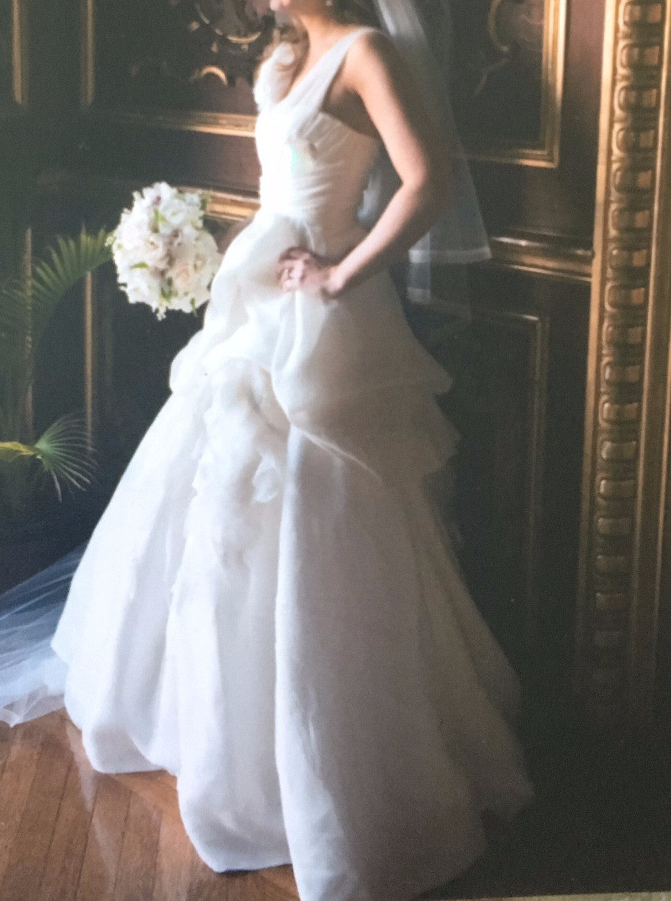 Monique Lhuillier 'Bailey' - Monique Lhuillier - Nearly Newlywed Bridal Boutique - 1
