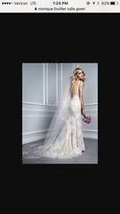 Monique Lhuillier 'Calla' - Monique Lhuillier - Nearly Newlywed Bridal Boutique - 3