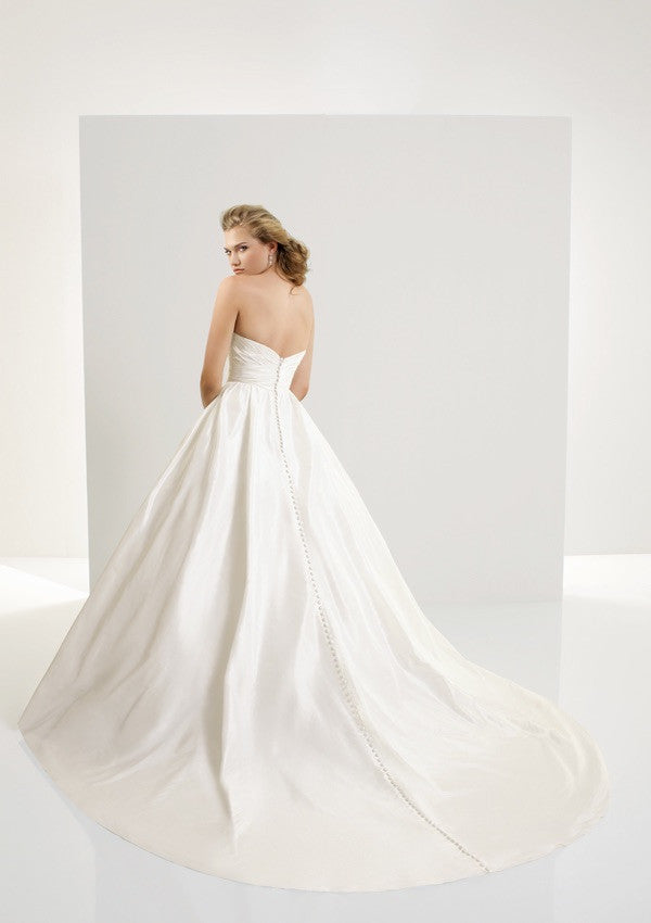 Angelina Faccenda 'Silk Taffeta Gown' - AngelinA faccenda - Nearly Newlywed Bridal Boutique