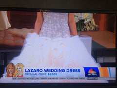 Lazaro Custom Made Gown - Lazaro - Nearly Newlywed Bridal Boutique - 6