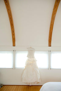 Monique Lhuillier Mystic Corset & Meringue Skirt - Monique Lhuillier - Nearly Newlywed Bridal Boutique - 2