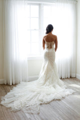 Inbal Dror Custom Gown - inbal dror - Nearly Newlywed Bridal Boutique - 3