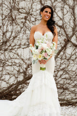 Inbal Dror Custom Gown - inbal dror - Nearly Newlywed Bridal Boutique - 1