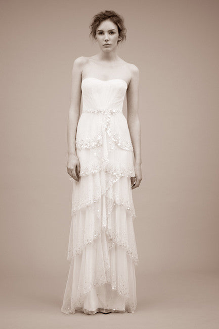 Jenny Packham 'Cascade' Wedding Dress - Jenny Packham - Nearly Newlywed Bridal Boutique - 1