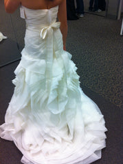 White by Vera Wang 'Organza Fit and Flare' - White by Vera Wang - Nearly Newlywed Bridal Boutique - 2