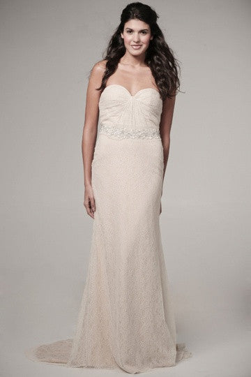 Ivy & Aster Violet Strapless Wedding Gown - Ivy & Aster - Nearly Newlywed Bridal Boutique - 1