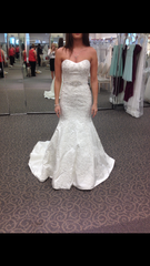 Oleg Cassini 'Petite Strapless' - Oleg Cassini - Nearly Newlywed Bridal Boutique - 1