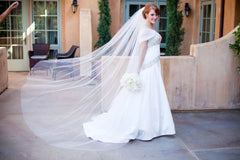 Kenneth Pool 'Alencon' Silk Gown - Kenneth Pool - Nearly Newlywed Bridal Boutique - 3