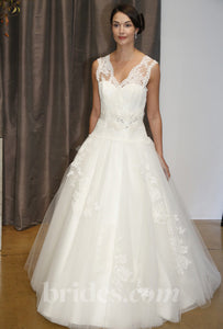 Judd Waddell Sleeveless Gown - Judd Waddell - Nearly Newlywed Bridal Boutique - 1