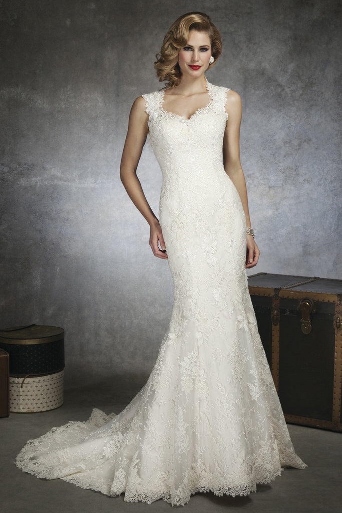 Justin Alexander '8656' - JUSTIN ALEXANDER - Nearly Newlywed Bridal Boutique - 4
