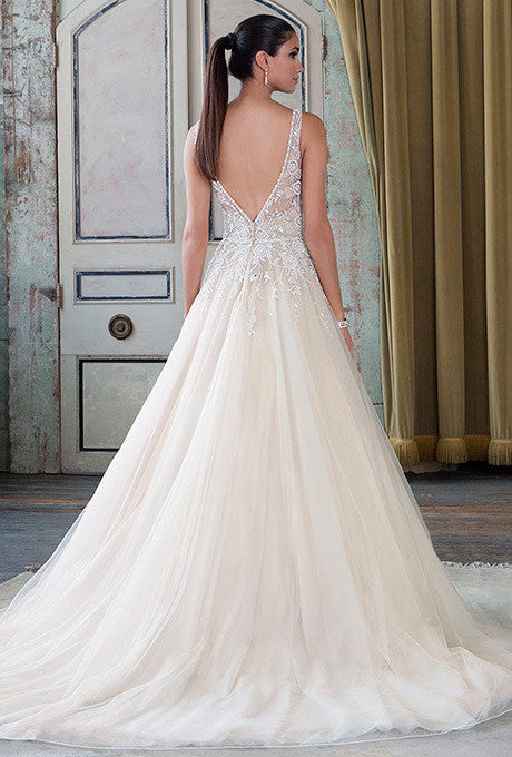 Justin Alexander Classic 9795 - JUSTIN ALEXANDER - Nearly Newlywed Bridal Boutique - 2