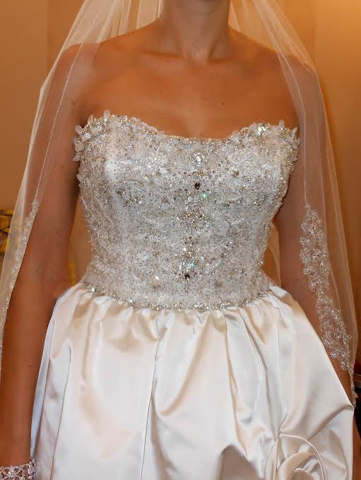 Kenneth Pool  'Alessandra' - Kenneth Pool - Nearly Newlywed Bridal Boutique - 5