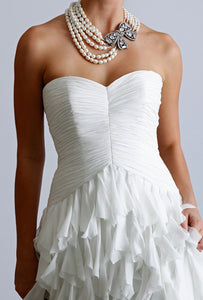 'Badgley Mischka 'Kiki' - Badgley Mischka - Nearly Newlywed Bridal Boutique - 1
