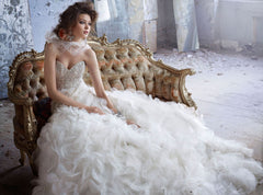Lazaro '3161' - Lazaro - Nearly Newlywed Bridal Boutique - 4