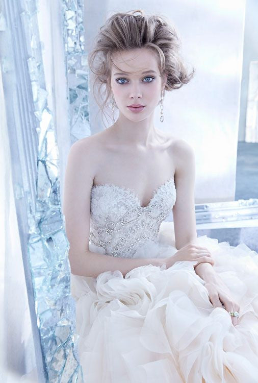 Lazaro #3450 - Lazaro - Nearly Newlywed Bridal Boutique - 2