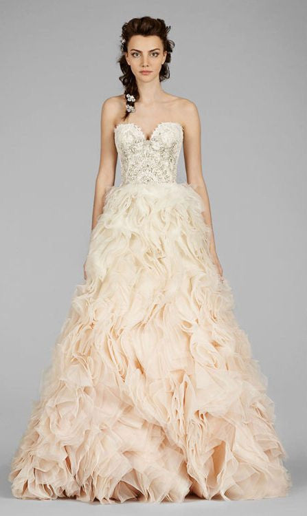 Lazaro #3450 - Lazaro - Nearly Newlywed Bridal Boutique - 3