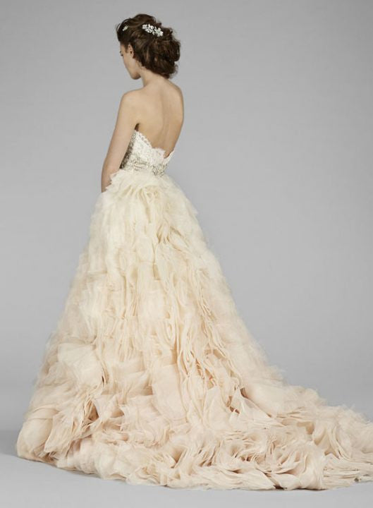 Lazaro #3450 - Lazaro - Nearly Newlywed Bridal Boutique - 4