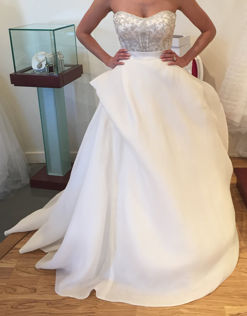 Monique Lhuillier 'Lenin Skirt' - Monique Lhuillier - Nearly Newlywed Bridal Boutique - 3