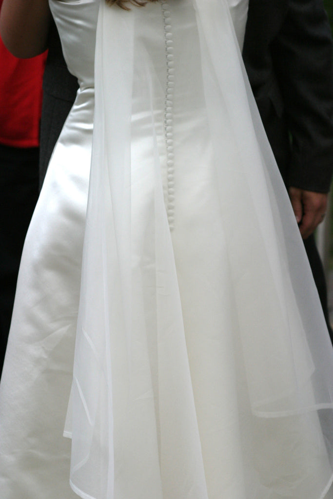 Justina McCaffrey 'Strapless' - justina mccaffrey haute couture - Nearly Newlywed Bridal Boutique - 1
