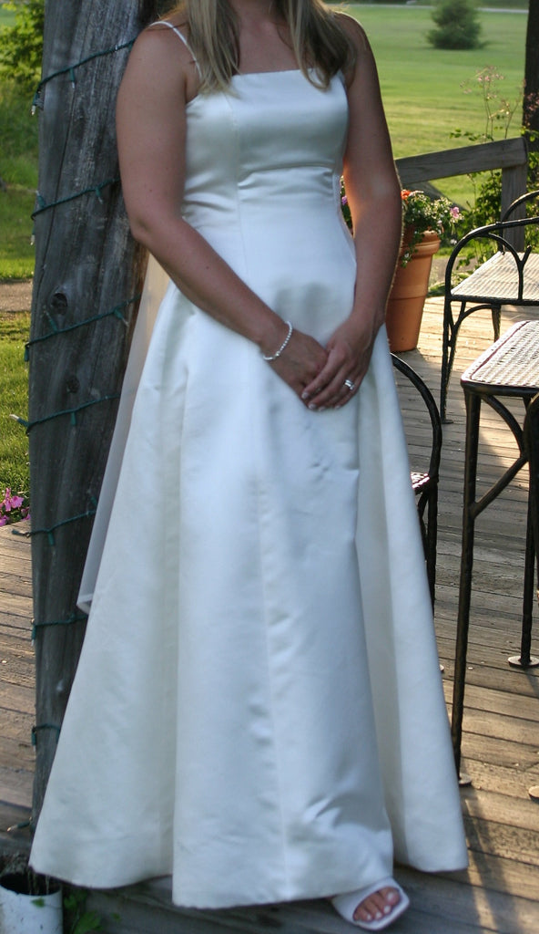 Justina McCaffrey 'Strapless' - justina mccaffrey haute couture - Nearly Newlywed Bridal Boutique - 3
