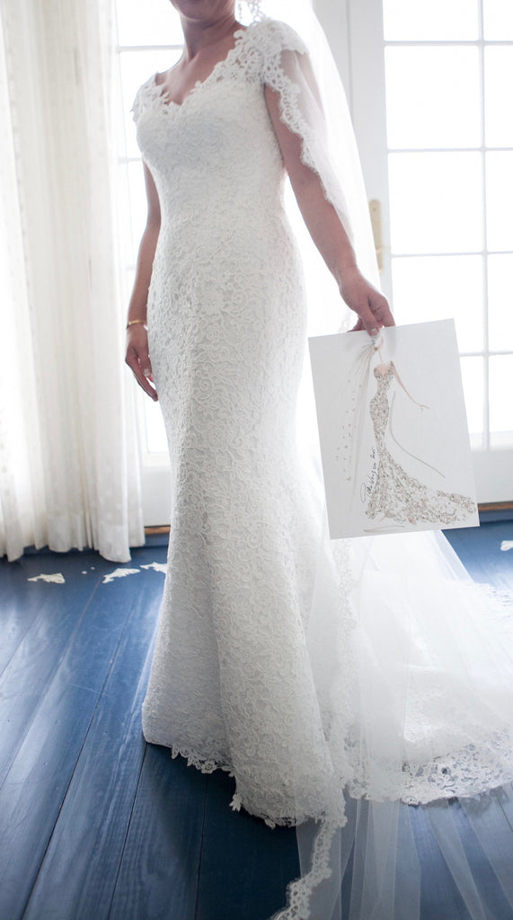 Peter Langner 'Grace' - Peter Langner - Nearly Newlywed Bridal Boutique - 5