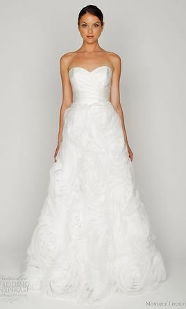 Monique Lhuillier Bliss #1206 - Monique Lhuillier - Nearly Newlywed Bridal Boutique - 2