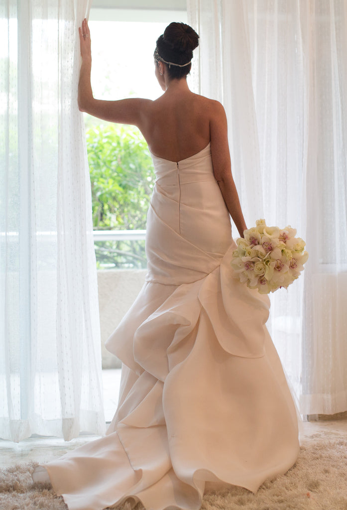 Monique Lhuillier 'Madison' - Monique Lhuillier - Nearly Newlywed Bridal Boutique - 6