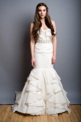 Rivini Balia Mermaid Wedding Dress - Rivini - Nearly Newlywed Bridal Boutique - 1