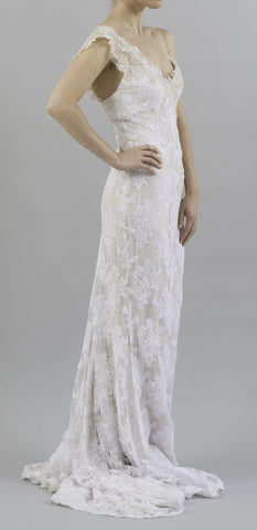 Mira Zwillinger Mary Fitted Lace Dress