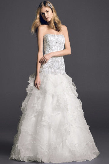 Oleg Cassini 'cwg546' - Oleg Cassini - Nearly Newlywed Bridal Boutique - 2