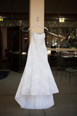 Oleg Cassini CWG594 - Oleg Cassini - Nearly Newlywed Bridal Boutique - 1