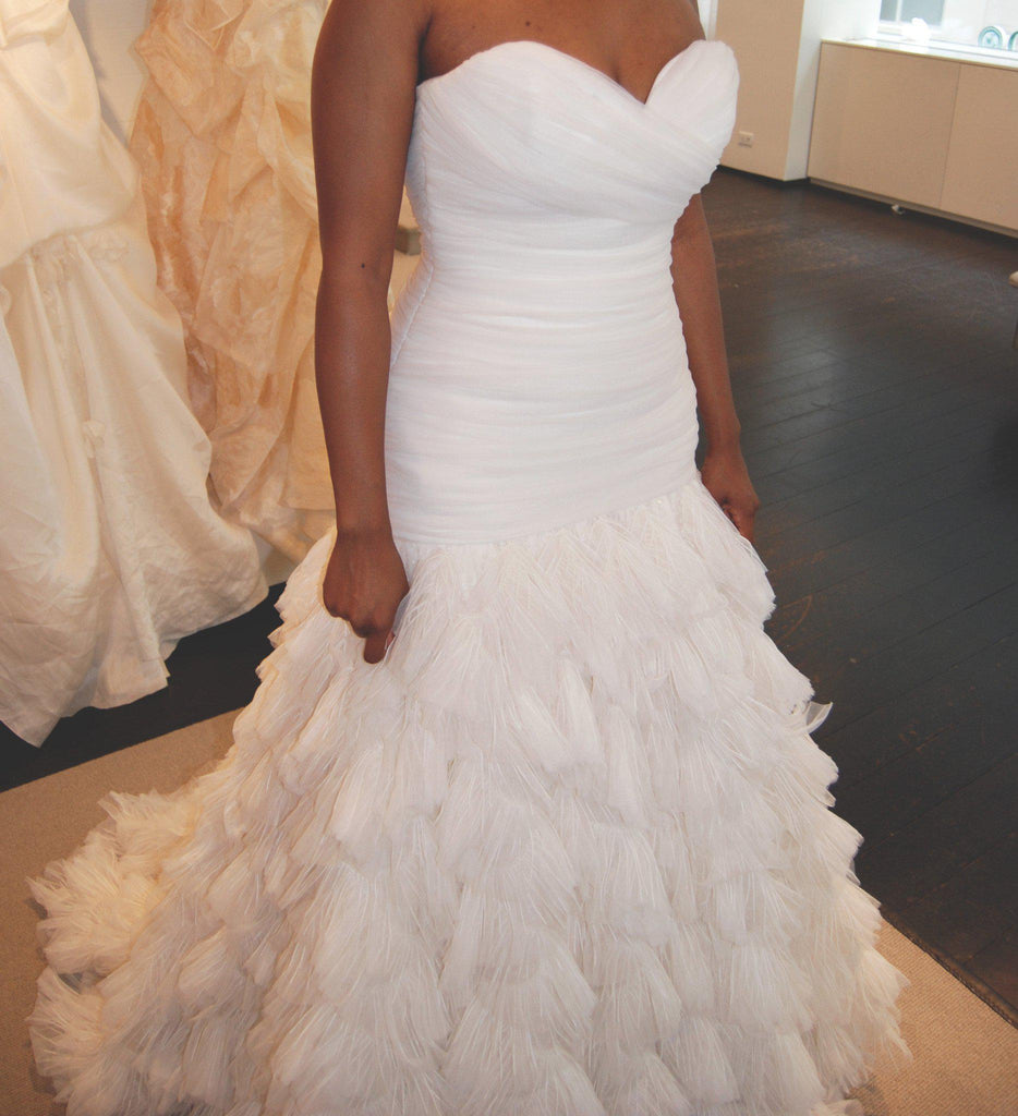 Kenneth Pool Fashionista Mermaid Gown - Kenneth Pool - Nearly Newlywed Bridal Boutique - 4
