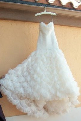 Kenneth Pool Fashionista Mermaid Gown - Kenneth Pool - Nearly Newlywed Bridal Boutique - 3