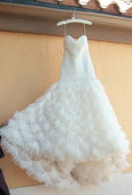Load image into Gallery viewer, Kenneth Pool Fashionista Mermaid Gown - Kenneth Pool - Nearly Newlywed Bridal Boutique - 3
