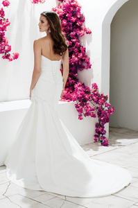 Mikaella Style 1761 Satin Sweetheart - Mikaella - Nearly Newlywed Bridal Boutique - 2