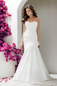 Mikaella Style 1761 Satin Sweetheart - Mikaella - Nearly Newlywed Bridal Boutique - 1